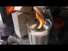 Sugaring a Blade. Carburizing a Knife With Sugar. - YouTube