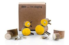 Craft Kits for Kids: Wooden Twig Animal Kits via Etsy