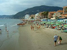 alassio images | ... at the beach in the resort of Alassio, Italy wallpapers and images