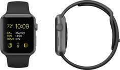 million Apple Watches were sold on day one. Of those watches, the Space Gray Apple Watch Sport with Black Band was the most popular. New Apple Watch, Apple Watch 42mm, Mobile Accessories, Cell Phone Accessories, Apple Tv, Apple Sport, Latest Smartphones, Best Kids Toys, Wearable Technology