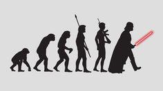 Star Wars wallpaper: Evolution of Man by McNealy.deviantart.com on @deviantART