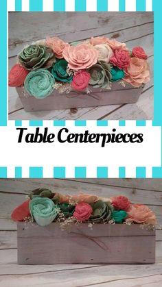 Centerpiece Planter Box. Easter Decor. Wedding. Rustic Decor. Farmhouse Decor. Table Centerpiece #ad