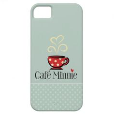 Caf Minnie iPhone 5 Covers