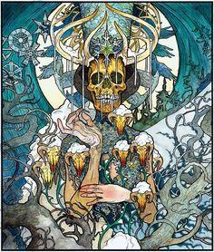 John Dyer Baizley artwork