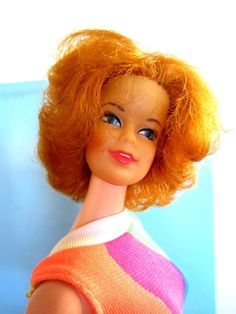 VINTAGE STACEY BARBIE FRIEND DOLL STUNNING REDHEAD - ORIGINAL SUIT