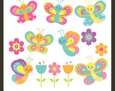 Bee Clip Art / Bee Clipart / Bumble Bee Clipart / by DreamyDuck