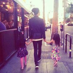 Miyavi - A truly inspiring proud father of two beautiful little girls.