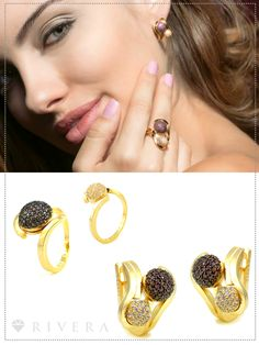 Blog Rivera Joias: Semi-joias de luxo: novidades Rivera Joias