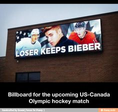 US-Canada Olympic hockey match / iFunny :)
