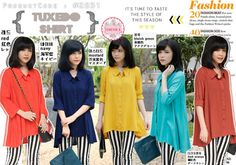 Tuxedo Shirt  Price : Rp 83.000 Brand : Forever 8 Code : F2831 Material : katun rayon Size : allsize, fit S - L besar