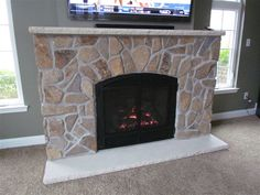 Traditionally sound. The DXV Mendota Hearth Gas Fireplace is a ...