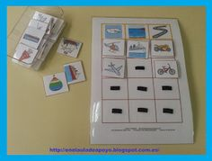 Les transports : classification d'objets Autism Activities, Sorting Activities, Preschool Learning, Task Boxes, Montessori, Homeschool, Cards, Exploration, Teaching Ideas
