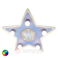 Lampa sufitowa Happy Star z kolorowymi LEDami 5400248