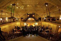 The historic & elegant Rookery. #chicago #wedding