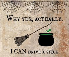 Free Halloween Printables at ALittleClaireification.com   Funny printable of witch quote   #Halloween #printables