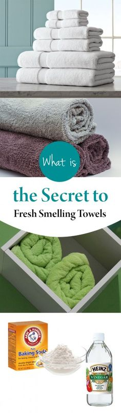What is the Secret to Fresh Smelling Towels