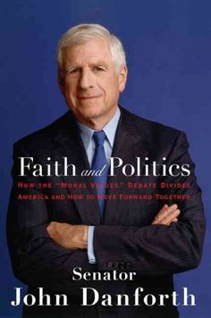 Faith And Politics : How the Moral Values Debate Divides America And How to Move Forward Together  http://library.sjeccd.edu/record=b1134844~S3