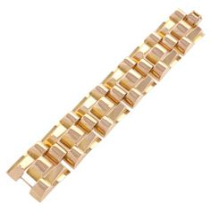 HERMES Yellow Gold 'Chaine D'Ancre' Bracelet