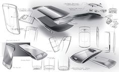Mercedes cell phone on Behance