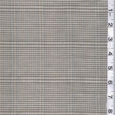 Green/Blue Plaid Suiting - Fabric By The Yard $12