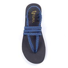 7dbd9822c75e Zori Sapphire Blue – Plaka Sandals Yoga Sandals