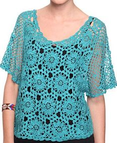 Forever 21 is the authority on fashion & the go-to retailer for the latest trends, styles & the hottest deals. Shop dresses, tops, tees, leggings & more! Crochet Tunic Pattern, Crochet Shirt, Crochet Lace, Crochet Designs, Knitting Designs, Loose Fitting Tops, Crochet Woman, Crochet Clothes, Shop Forever
