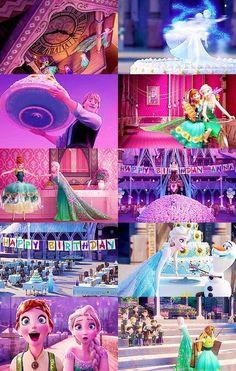 Image via We Heart It https://weheartit.com/entry/165188700 #amazing #anna #cake #disney #disneyland #dresses #girl #happybirthday #love #olaf #party #perfect #princess #sisters #elsa #kristoff #frozen2