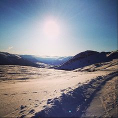 Oppdal - Instagram photo by @ingvildmelkersen #travel #norway #oppdal