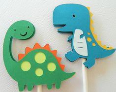 Dinosaur Cupcake Wrappers Dinosaur Birthday Decorations