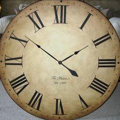 shillville clock company extra large wall clocks by heirloom clocks