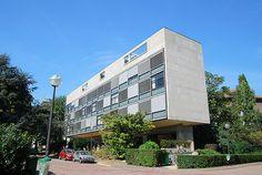 Suisse Pavillion    University city  Le Corbusier