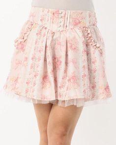 リボン柄スカパン|渋谷109で人気のガーリーファッション リズリサ公式通販