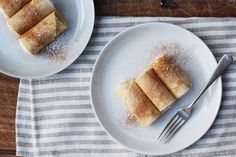 Ricotta-Filled Lemon Crêpes: http://food52.com/blog/10640-apostle-s-fingers-crepes-with-lemon-and-ricotta-filling #Food52