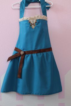 Brave Merida inspired dress up apron.  I should make something like this for MyKaela and I