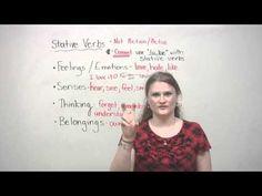English Grammar - Stative Verbs