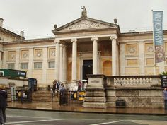"""Ashmolean museum, Oxford [Spent a lovely, long morning here! It's right across the street from a hotel featured in an episode of """"Inspector Morse""""...]"""