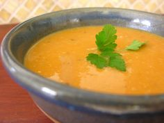 Sopa de Batata Doce (Sweet Potato Soup) - Easy Portuguese Recipes