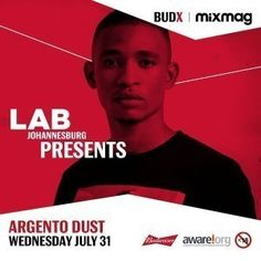 Rising South African talent Argento Dust brings a vibrant house set to The Lab Johannesburg. Argento Dust's love for house music started in after becoming Moon Child, House Music, Mixtape, Good Music, Afro, Lab, Hip Hop, How To Become, Vibrant