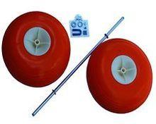 Angler's Fish-N-Mate Balloon Poly Wheel Kit for Angler's Fish N Mate Jr & Sr Fishing Beach Cart. Great for the Sand