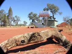 Solar energy panels and stainless-steel water tank at Wilderness Lodge in central Australia. This instant we will be able to decide our future. Our planet needs green energy and spending less in our electrical bill Visit http How Solar Energy Works, Advantages Of Solar Energy, Solar Energy Panels, Solar Power, Cheap Solar Panels, Steel Water Tanks, Solar Panel Technology, Best Sites, Alternative Energy