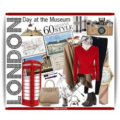 60 Second Style: Day at the Museum in London by lanaterra on Polyvore featuring Mode, Diane Von Furstenberg, Burberry, J Brand, Topshop, Judith Leiber, Furla, Felix Rey, Chanel and Vince Camuto