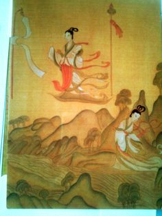 big size card】古典绘画系列Chinese Class Painting Series.洛神赋图Nymph of the Luo River.东晋,顾恺之Gu Kaizhi ,Dong Jin Dynasty