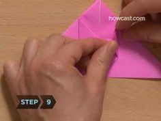 How To Make an Origami Inflatable Bunny (one of the cutest things ever!)