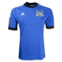 San Jose Earthquakes 2012 Away Replica Soccer Jersey #MLS #Soccer