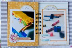 A little book of favorite things, by Francine Clouden for Write.Click.Scrapbook.