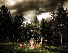 Digital art The girl in the moonlight Photo Manipulation, Digital Photography, New Work, Moonlight, Digital Art, Places To Visit, Photoshop, Wall Art, Gallery