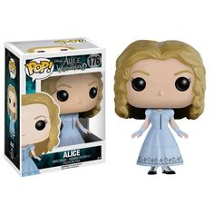 "This is a Disney Alice in Wonderland Live Action POP Alice Vinyl Figure that is produced by Funko. Very cool. Recommended Age: 5+ Condition: Brand New and Sealed Dimensions: 3.75"" X 1 Disney Alice in"