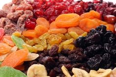 all dried fruit