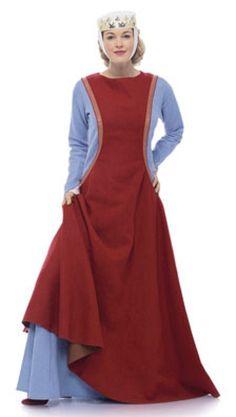 Medieval cutaway surcoat