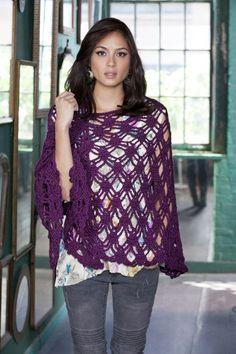 Bohemian Shawl  http://www.caron.com/vickiehowell/patterns/bohemian_shawl/bohemian_shawl.html#